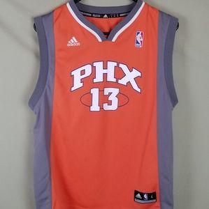 Phoenix Suns Steve Nash 13 Jersey Adidas Sz L